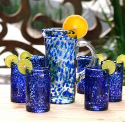 'Marine' Drinking Glass Set