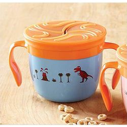 Blue Gobble 'n Go Kid's Food Cup
