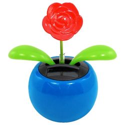 Solar Power Dancing Rose Toy
