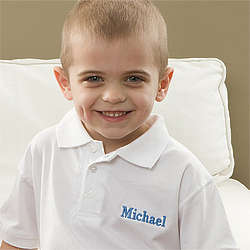 Personalized Kid's Polo Shirt