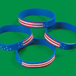 Patriotic Flag Bracelets