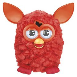 Red Furby Robotic Toy