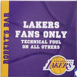 Personalized NBA Basketball Canvas Wall Art