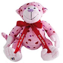 Personalized Webkinz Love Monkey
