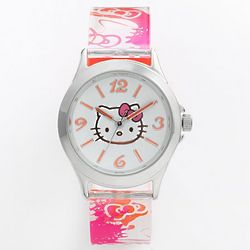 Hello Kitty Pink and Orange Watch