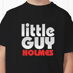 Little Guy Personalized Youth T-Shirt
