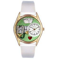 Gold Nurse Watch