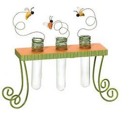 Test tube bud vase holder for Test tube flower vase rack