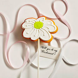 Personalized Daisy Cookie Card