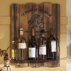 French Country Wine Rack
