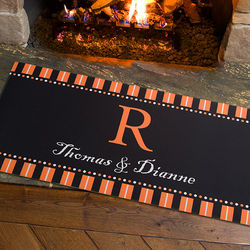 Personalized Oversized Halloween Spirit Doormat