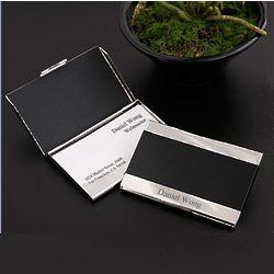 Engravable Slim Jim Business Card Case