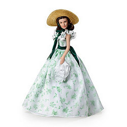 Gone With the Wind Scarlett Belle of the Barbecue Fashion Doll