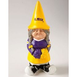 LSU Tigers Cheerleader Gnome