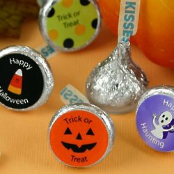 Halloween Personalized Hershey's Kisses