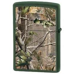 RealTree Camo Green Matte Zippo Lighter