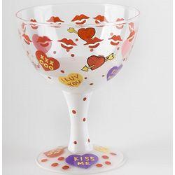 Cupid's Hand-Painted Ice Cream Sundae Bowl