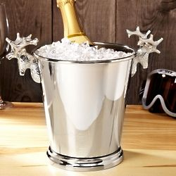 Regal Stag Silver Champagne Bucket