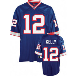 Jim Kelly Buffalo Bills Youth EQT Replithentic Throwback Jersey