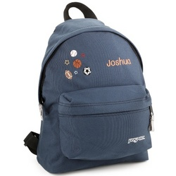 Small Navy Sports Backpack