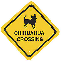 Dog Breed Crossing Sign
