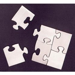 Pewter Puzzle Magnets