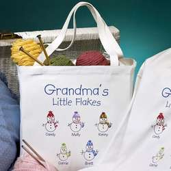 Grandma's Little Flakes Tote Bag
