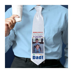 Dad Personalized Photo Neck Tie