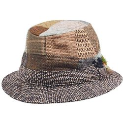 Tweed and Patch Walking Hat