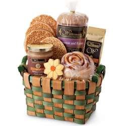 Thank You Breakfast Treats Basket