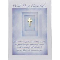 Gratitude Cross Pin