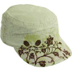 Women's Floral Print Cadet Hat