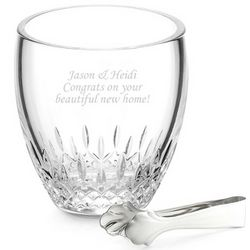 Lismore Essence Ice Bucket with Tongs