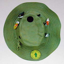 Fishing Hat Birdhouse