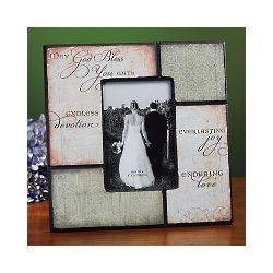 Irish Wedding Photo Frame