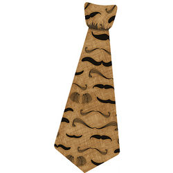 Mustache Sticky Tie