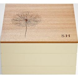 Personalized Dandelion Modular Jewelry Box