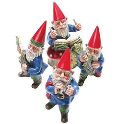 Quartet Garden Gnome Statues