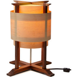 Handcrafted Wooden Wrap Lamp