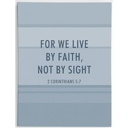 We Live By Faith Not By Sight Corinthians Art Print