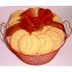 Valentine's Day Basket of Cookies