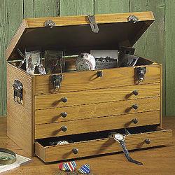 Personalized Toolbox Style Keepsake Box