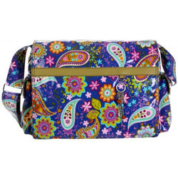 Paisley Multitasker Laptop Messenger Bag