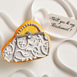 Personalized Bridal Clutch Cookie Card
