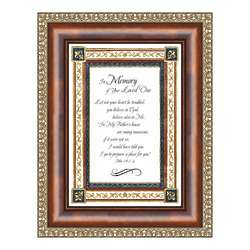 In Memory Framed Bible Verse