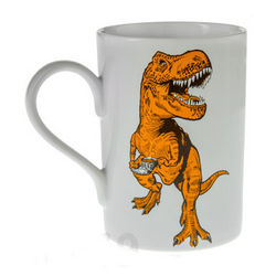 Tea-Rex Ceramic Coffee Mug