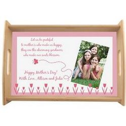 Garden of Love Tea and Coffee Photo Tray