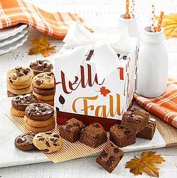 Autumn Precious Presents Cookie and Brownie Gift Box