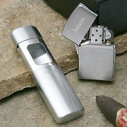 On-the-Go Zippo Lighter Gift Set