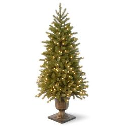 Pre-Lit Feel-Real Fraser Fir Christmas Tree